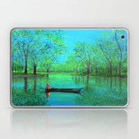 Lake reflection Laptop & iPad Skin