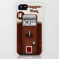 iPhone 5s & iPhone 5 Cases featuring Jugger-Nog by Head Glitch