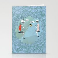 Tea Upstairs Stationery Cards