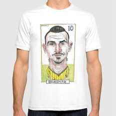 ZLATAN SMALL White Mens Fitted Tee