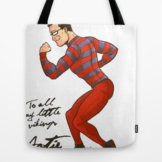 ARTIE! The Strongest Man in the World! Tote Bag