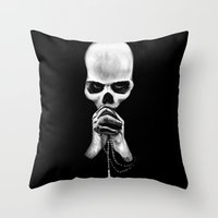 Straight Is the Gate and Narrow the Way Throw Pillow