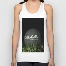 Calle-Swag District. Unisex Tank Top