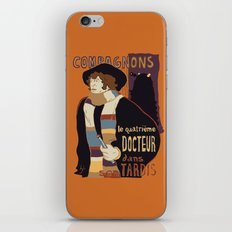 Le Fourth Doctor iPhone & iPod Skin