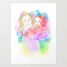Best Friends Art Print