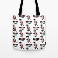 Bacon Love Tote Bag