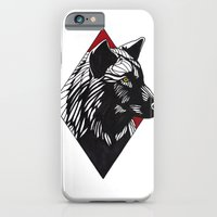 iPhone & iPod Case featuring A Wolf at the Door by weshouldbestrangers