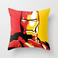 Iron Man Throw Pillow