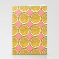 Lemons Citrus Fruit Color Photo Art Stationery Cards