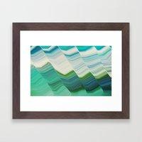 OCEAN FANTA-SEA Framed Art Print