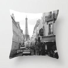 Rue St Dominique Throw Pillow