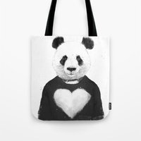 Lovely panda Tote Bag