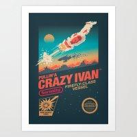 Crazy Ivan Art Print