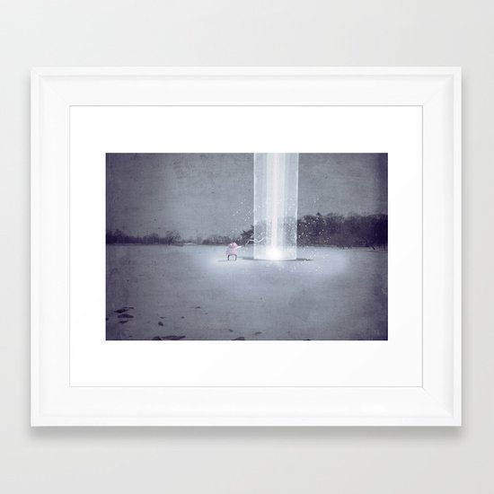 i didn't know i could do this.  Framed Art Print