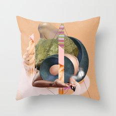 The Dangers of Origami (Crippled Flesh Series)  By Zabu Stewart Throw Pillow