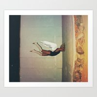 Sometimes You Hit A Wall… Art Print