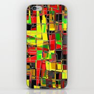 iPhone & iPod Skin featuring Qr Code Pinched by David Mark Lane