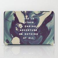 A Daring Adventure iPad Case