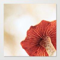 A Ladybug's Picnic Parasol Canvas Print