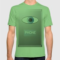 Eye Phone Mens Fitted Tee Grass SMALL