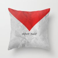 find you half (part 2 of 2) Throw Pillow