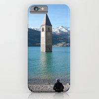 iPhone & iPod Case featuring Drowning my thoughts by MoreOrLens