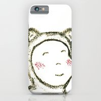 iPhone & iPod Case featuring Baby Bear by Axiomatic Art