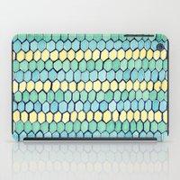 Watercolour Honeycomb Tank Top iPad Case