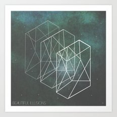 Beautiful Illusions  Art Print