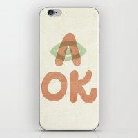 A OK iPhone & iPod Skin
