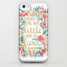 Little & Fierce iPhone 5c Slim Case