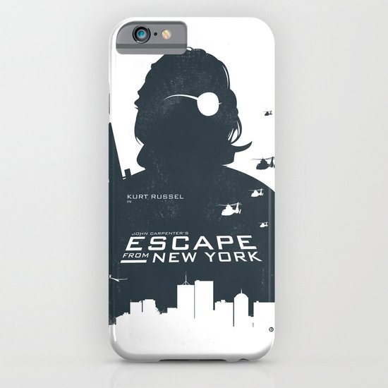 John Carpenter's Escape From New York iPhone & iPod Case