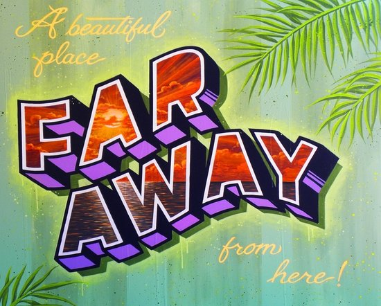 """FAR AWAY"" Art Print"