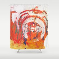 Shower Curtain featuring Love Prevailed by Angela Mayotte