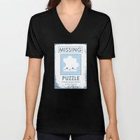 The Missing Puzzle Unisex V-Neck