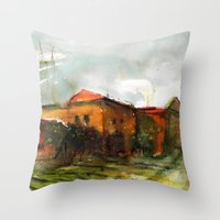 Who is in the house of my heart Throw Pillow
