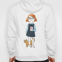 A Girl And Her Cat Hoody