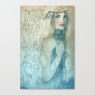 I Must Be A Mermaid Canvas Print