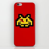 Who Watches The Invaders… iPhone & iPod Skin