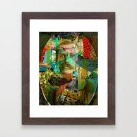 Hardened Hero Framed Art Print