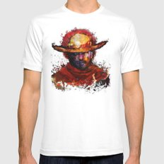Big Boss Mens Fitted Tee White SMALL