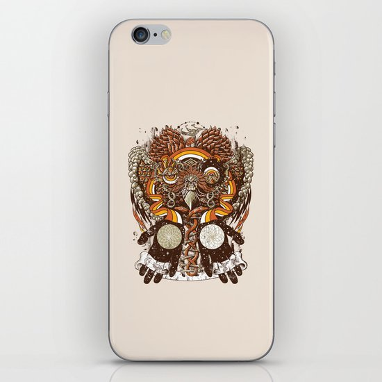Dreams of a Feather iPhone & iPod Skin