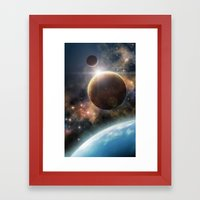 Welcome to the Space Framed Art Print
