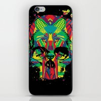 HowlinSkull iPhone & iPod Skin