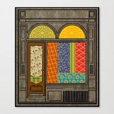 Shop windows Canvas Print