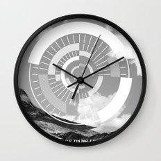 Voyage Dans Le Temps Wall Clock