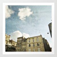 Bordeaux Art Print