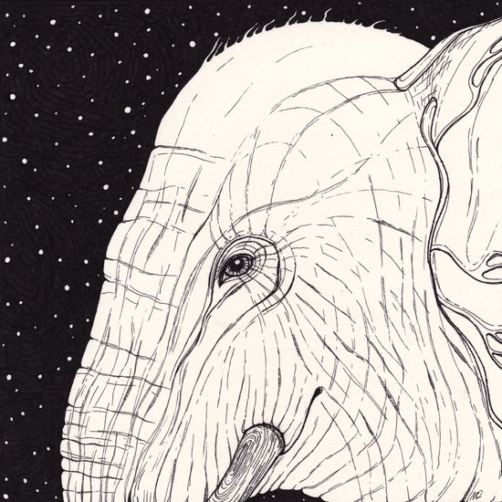 animal moments: elephant Art Print