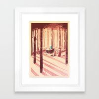 Time for an Adventure Framed Art Print