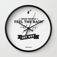 Marley Quote - Some Peop… Wall Clock